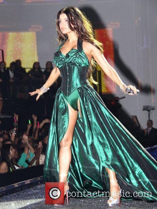 Fergie aka Stacy Ferguson Victoria's Secret fashion show...