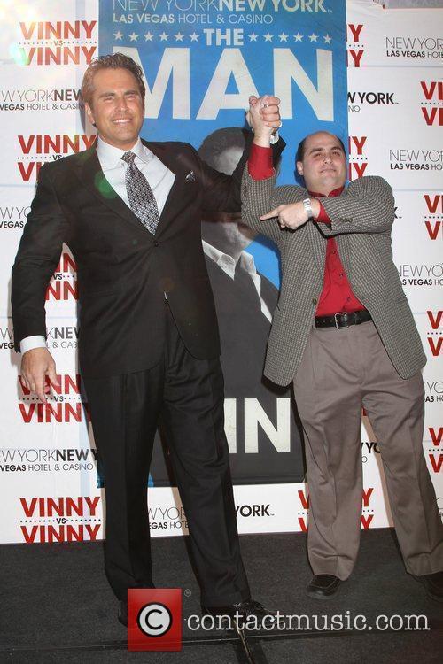 Vinny Blue aka Tom Cassell and Vinny Red...