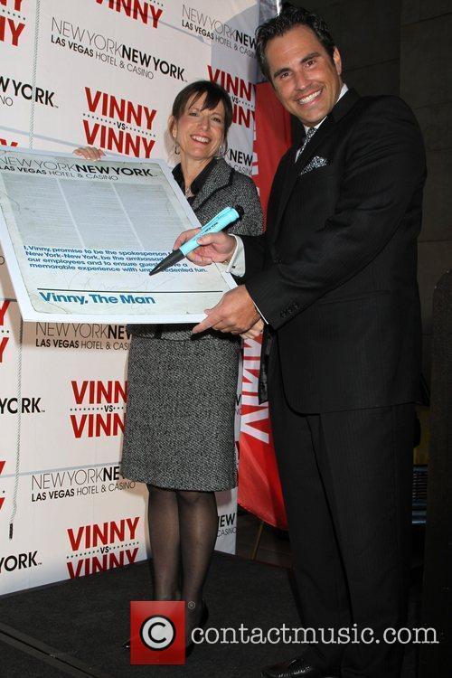 Vinny Blue aka Tom Cassell and Cynthia Kiser...