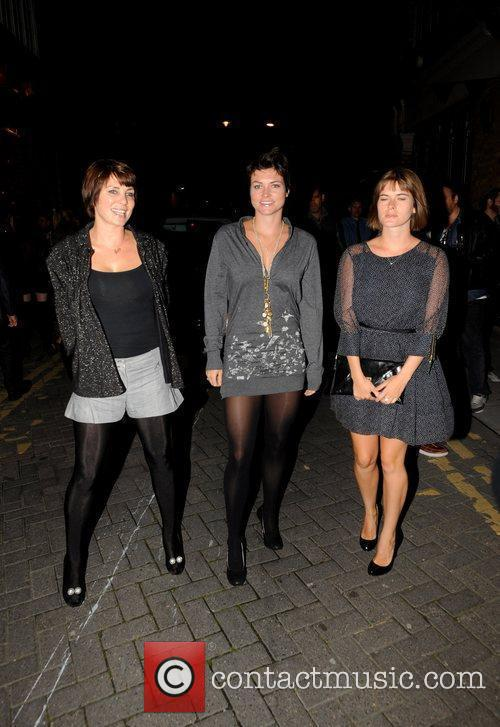 Sadie Frost with her sisters PRPS hearts start...
