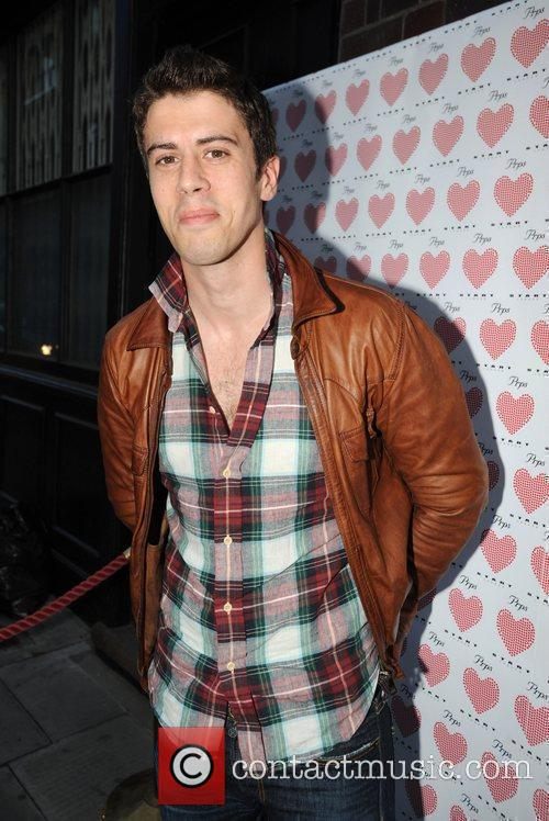 Toby Kebbell PRPS hearts start launch party at...