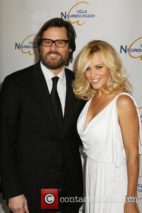 Jim Carrey and Jenny McCarthy 2009 UCLA Department...