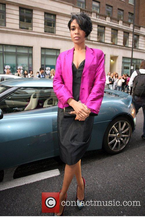 Michelle Williams, London Fashion Week