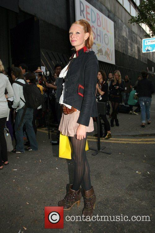 Olivia  25th anniversary London Fashion Week Spring/Summer...