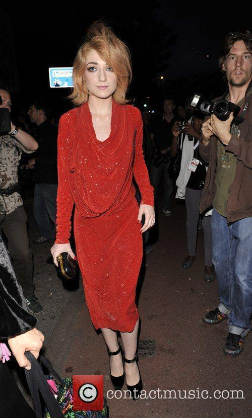 Nicola Roberts outside the Vivienne Westwood afterparty in...