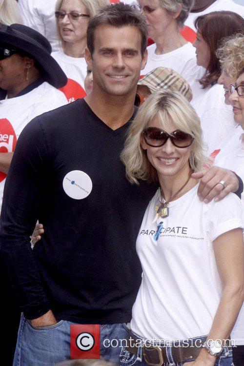 Cameron Mathison and Kelley Menighan Hensley Celebrities kick...