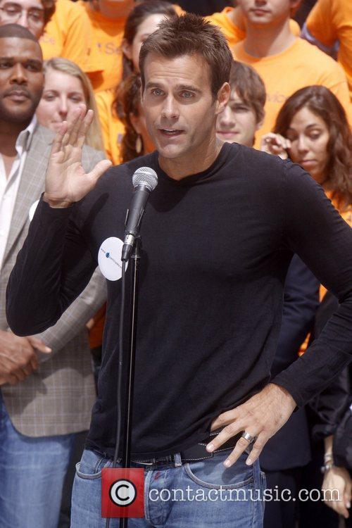 Cameron Mathison Celebrities kick off two major initiatives,...