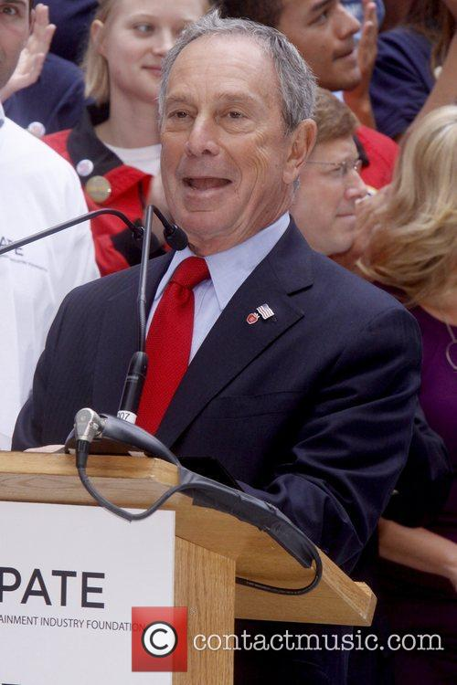Mayor Michael Bloomberg Celebrities kick off two major...