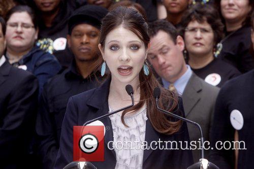 Michelle Trachtenberg Celebrities kick off two major initiatives,...