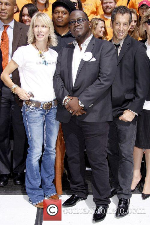 Sway Calloway, Randy Jackson and Kenneth Cole Celebrities...