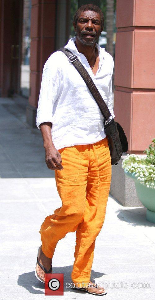 American actor and film director Vondie Curtis-Hall, wearing...