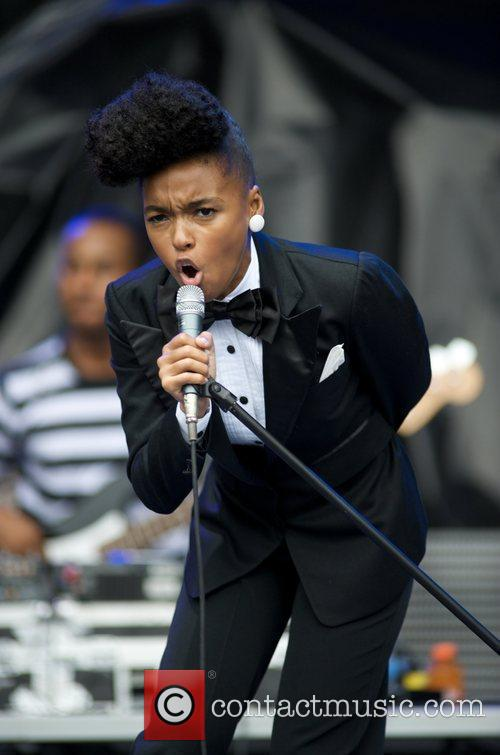 Janelle Monae plays the Voodoo stage on Day...