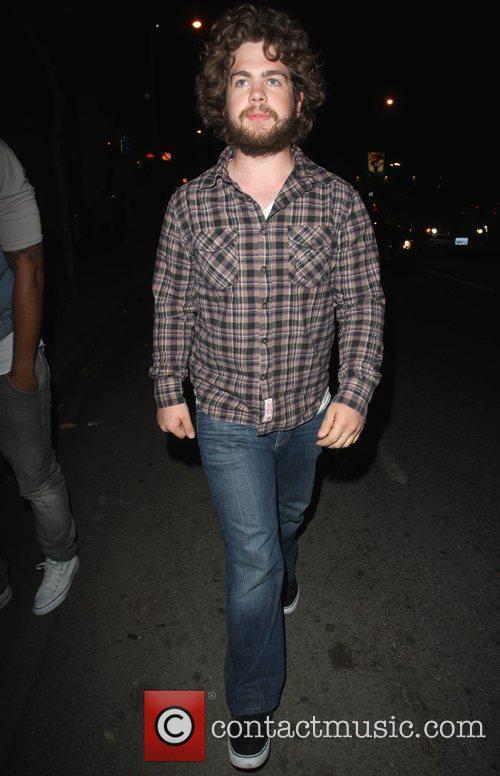 Jack Osbourne outside Voyeur nightclub Los Angeles, California