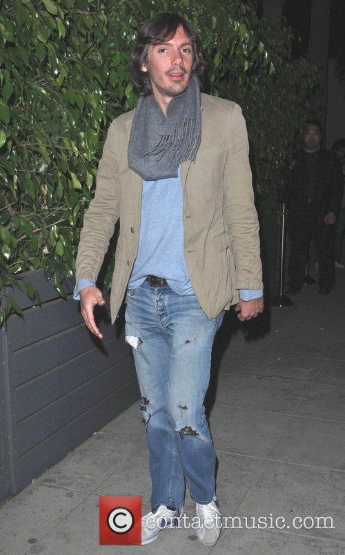 Lucas Hass outside Voyeur nightclub Los Angeles, California