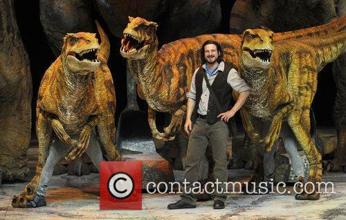Walking with Dinosaurs: Arena Spectacular held at the...