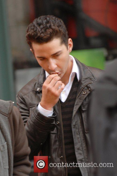 Shia LaBeouf - on the set of his new movie 'Wall Street 2 ...