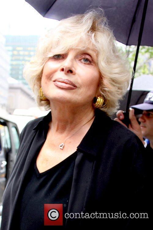 Joanna Simon, girlfriend of Walter Cronkite Funeral service...