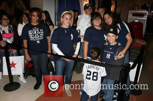 Atmosphere Macy's welcomes Melky Cabrera to celebrate his...
