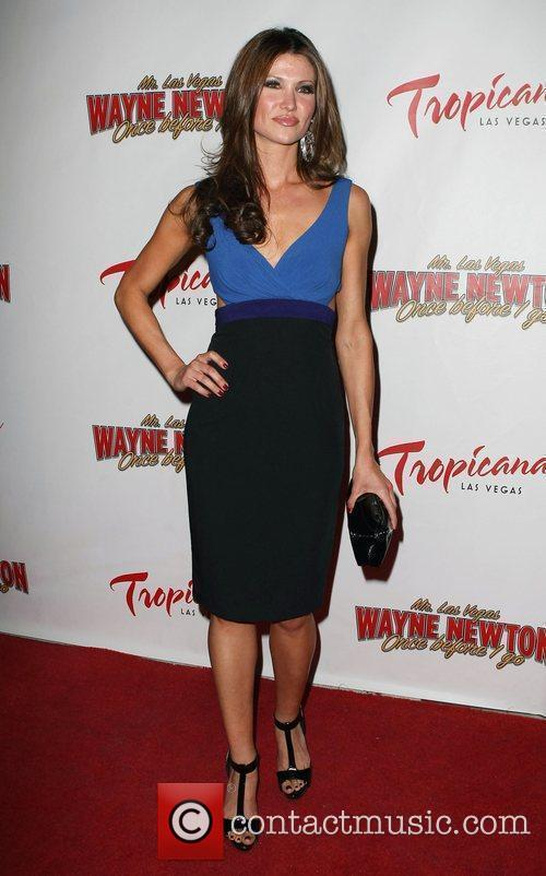 Alison Fiori, Las Vegas and Wayne Newton 3