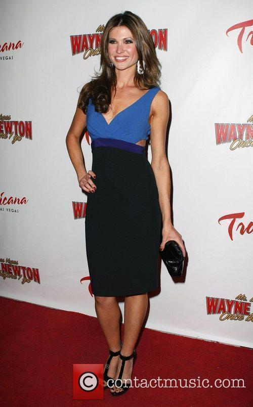 Alison Fiori, Las Vegas and Wayne Newton 2