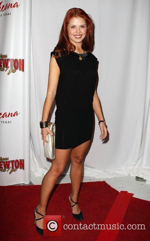 Anna Trebunskaya, Las Vegas and Wayne Newton 3