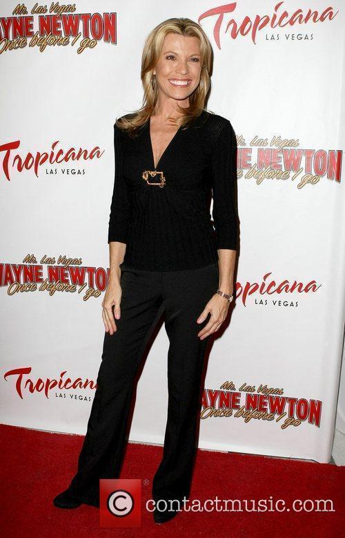 Vanna White, Las Vegas and Wayne Newton 1