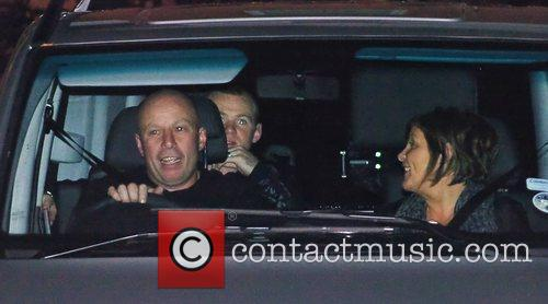 Wayne Rooney, with wife Colleen's parents Colette McLoughlin...