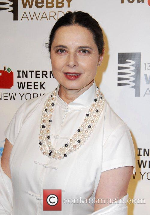 Isabella Rossellini The 13th Annual Webby Awards held...
