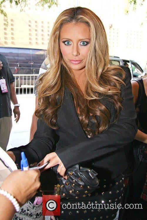 Aubrey O'day Outside Fox Studios For 'the Wendy Williams Show' 6