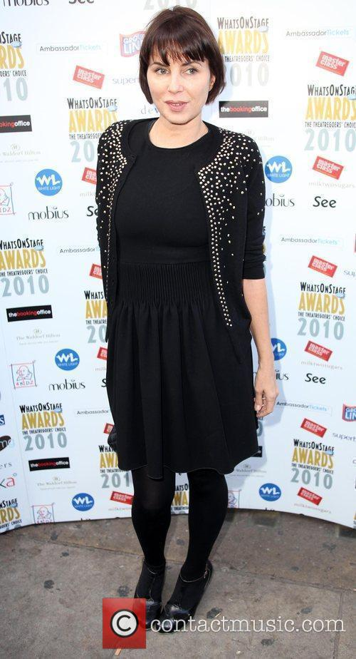 Sadie Frost Who's on Stage Awards at Cafe...