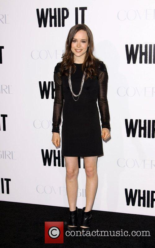 Ellen Page Whip It Los Angeles Premiere Held...