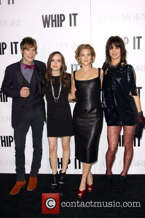 Guest, Ellen Page and Drew Barrymore and Juliette...