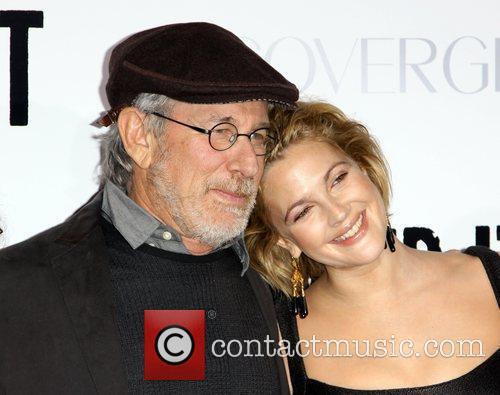 Steven Spielberg and Drew Barrymore 2