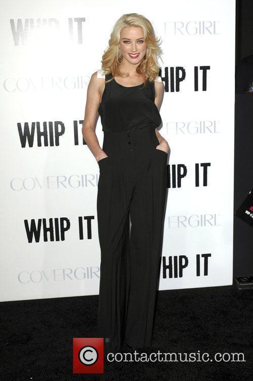 Amber Heard 'Whip It' Los Angeles Premiere held...