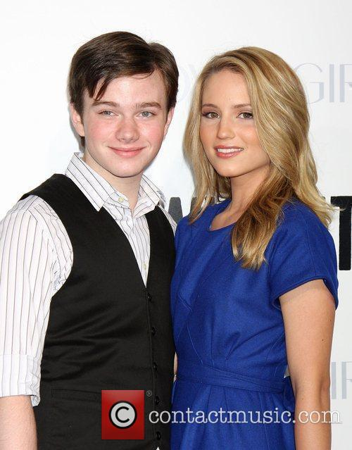 Chris Colfer and Dianna Agron 'Whip It' Los...
