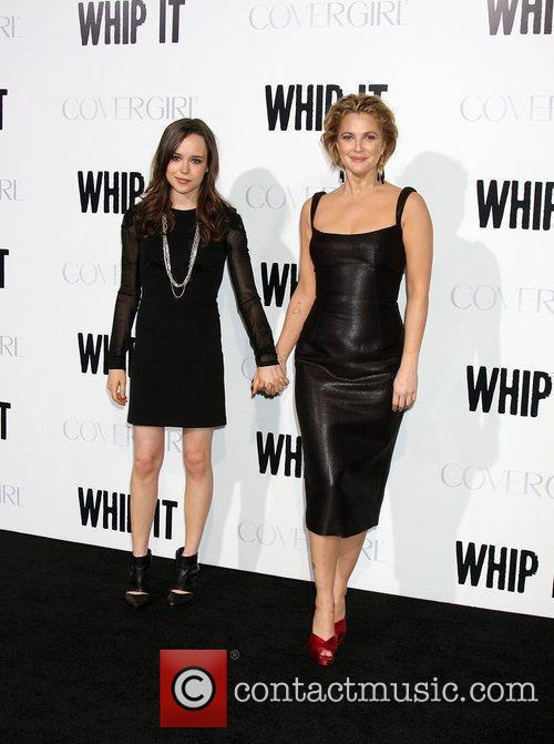 Ellen Page and Drew Barrymore 8
