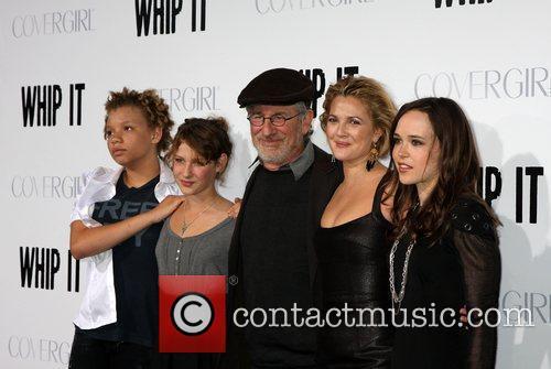Steven Spielberg, Drew Barrymore, Ellen Page and Guests...