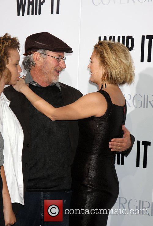 Steven Spielberg and Drew Barrymore 1