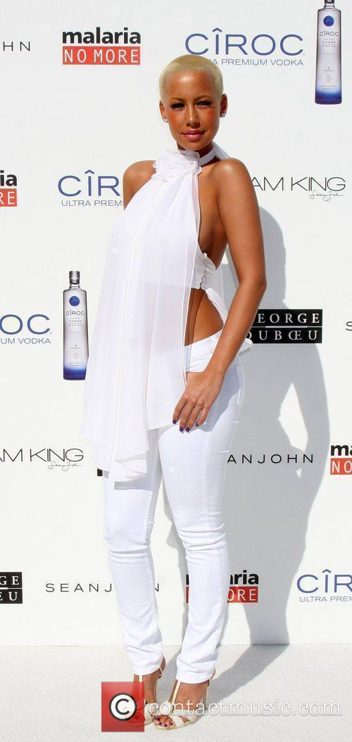 Amber Rose The Annual White Party held at...