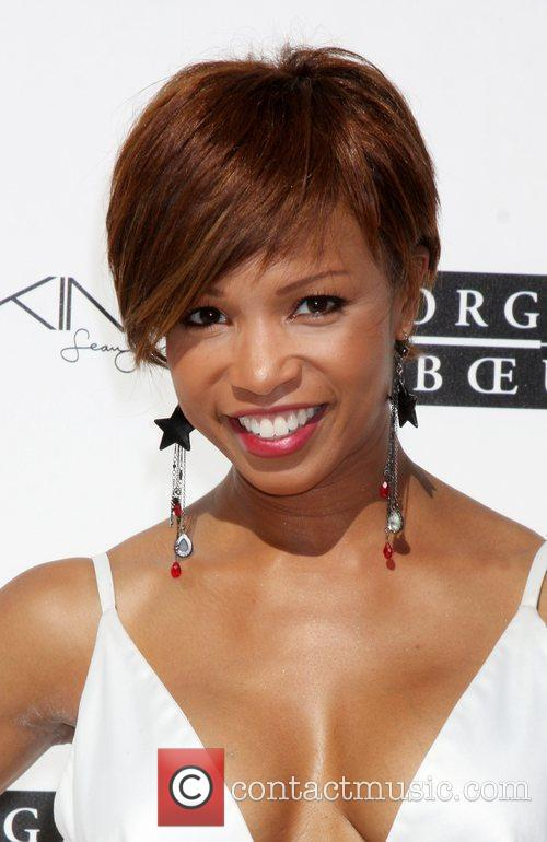 Elise Neal The Annual White Party held at...