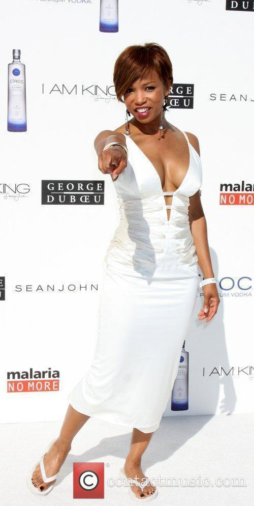 The Annual White Party held at a private...