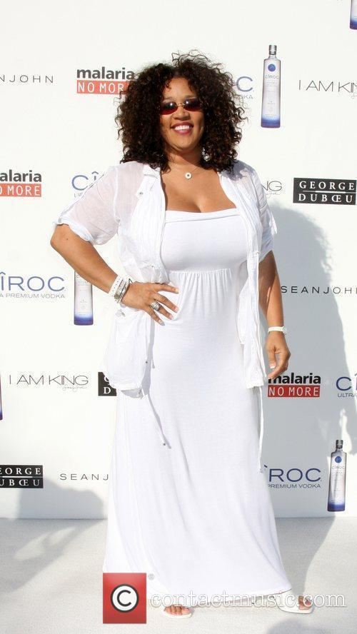 Kym Whitley The Annual White Party held at...