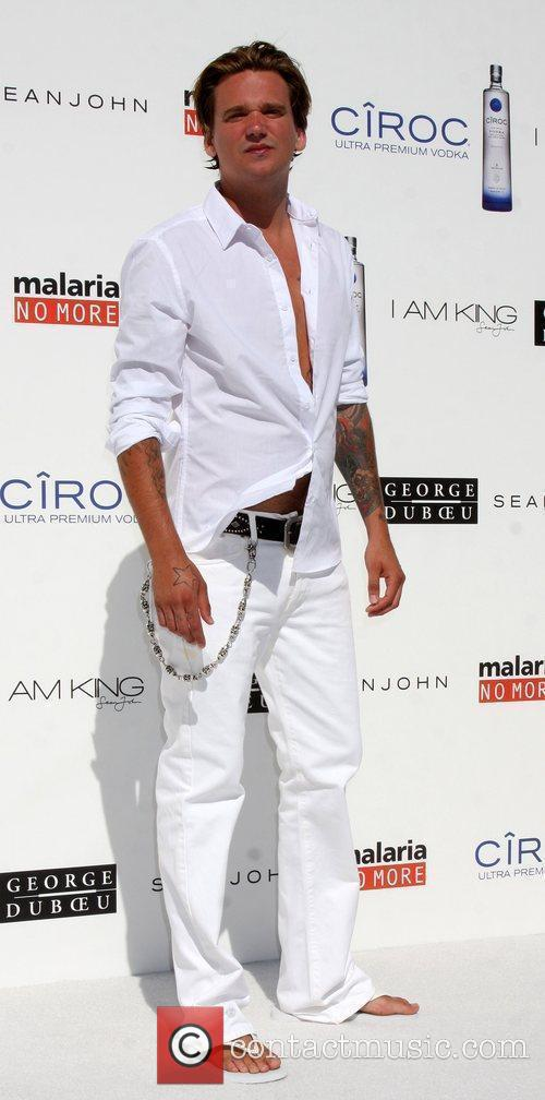 Sean Stewart The Annual White Party held at...