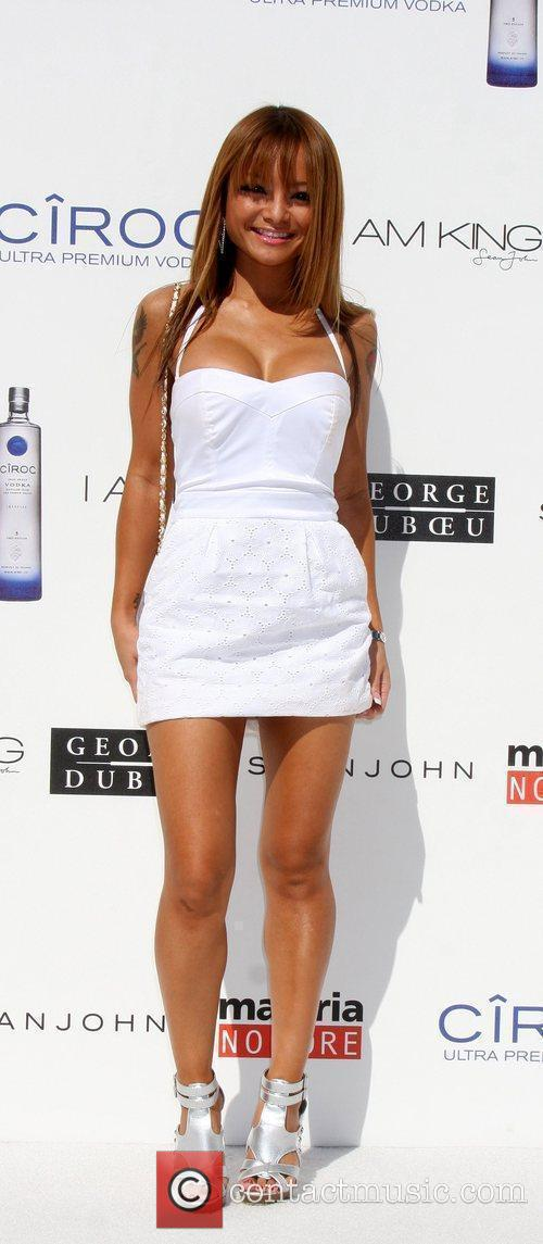 Tila Tequila The Annual White Party held at...