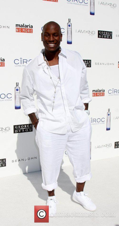 Tyrese Gibson The Annual White Party held at...