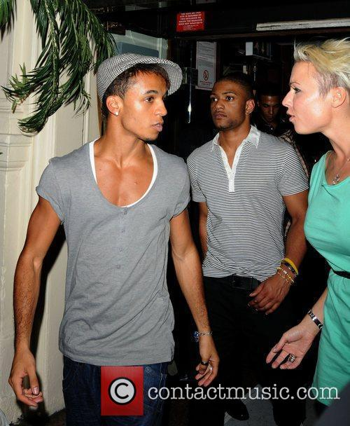 JLS leaving The White Room launch party