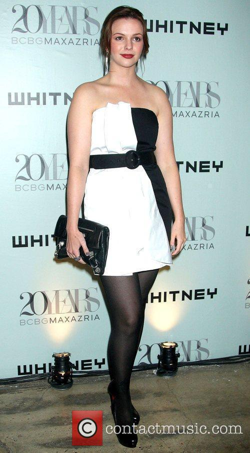 Amber Tamblyn 2009 Whitney Contemporaries Art Party and...