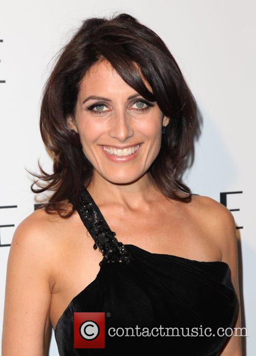 Actress Lisa Edelstein and Lisa Edelstein