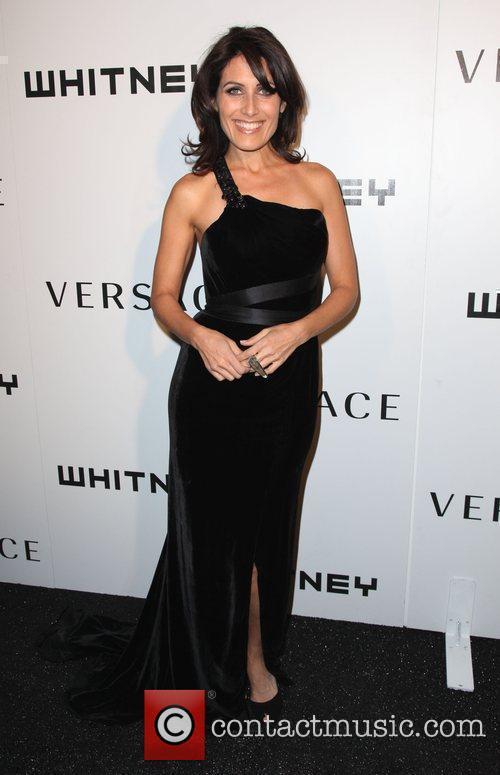 Actress Lisa Edelstein  2009 Whitney Museum Gala...