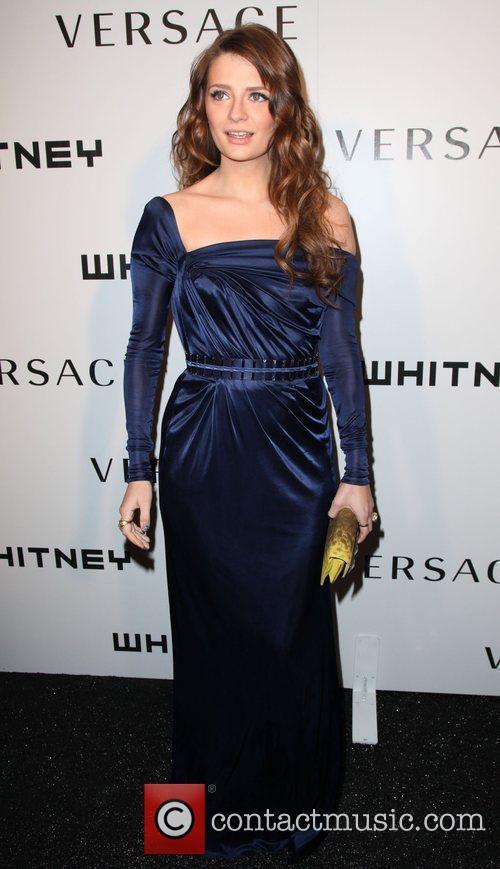 Actress Mischa Barton  2009 Whitney Museum Gala...